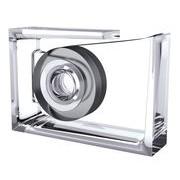 Lexon Dévidoir de ruban adhésif Roll-Air / By Eugeni Quitllet - Lexon transparent en matière plastique