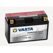 Bateria para moto Varta 12v 7ah 120A PowerSports AGM YT7BA-4/YT7B-BS 150 x 66 x 94 mm