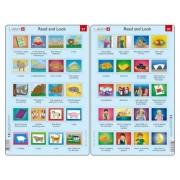 Set 10 Puzzle-uri Read and Look 21 -30 (EN), 10 piese Larsen