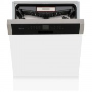 Neff S416T80S0G Built In Semi Integrated Dishwasher - Stainless Steel
