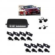 Senzori parcare fata spate cu camera video marsarier (inclusa) fara display S600-8 tip OEM de 16.5mm