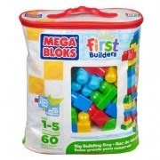 Mega Bloks - Bolsa Maxi 60 Piezas Azul
