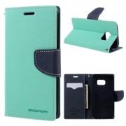 Mercury Pouzdro / kryt pro Samsung Galaxy S7 - Mercury, Fancy Diary Mint/Navy