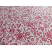 Mályva rózsaszín csíkos karton maradék 3db egyben/017/Cikksz:1231129