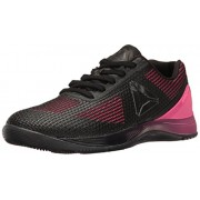 Reebok Women s Crossfit Nano 7. 0 Cross-Trainer Shoe Solar Pink/Black/Lead/White 7 B(M) US