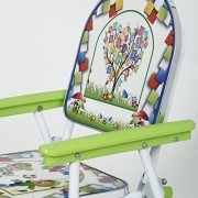 SR Beautiful Printed Portable Learning Kids Table Chair- (Colour May Vary)