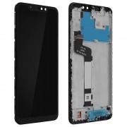 Clappio Repuesto Pantalla LCD/Táctil Negra para Xiaomi Redmi Note 6 Pro