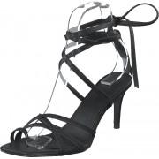 NA-KD Ankle Strap Stiletto Heels Black, Skor, Klackskor, Lågklackade sandaletter, Svart, Dam, 36