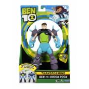 Set 10 figurine transformabile Ben 10 Deluxe and ndash Shock Rock