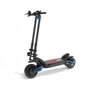 "Trotineta electrica ZERO 11x, Autonomie 160 Km (Baterie LG), Viteza 110 Km/h, Motor 2 x 1600W, Roti pneumatice 11"", Suspensii hidraulice (Negru/Albastru)"