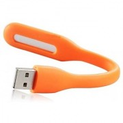 ZEVORA Portable Flexible USB LED Light Lamp Orange