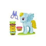 Play Doh-my Little Pony Pônei E Penteados Rainbow Dash Hasbro B0011