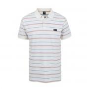 RIP CURL Gestreiftes Polo-Shirt, kurze Ärmel
