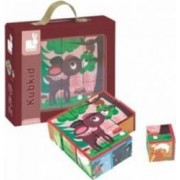 Jucarie educativa Janod Kubkid - Forest Animals