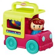 Playskool Fold 'N Roll Trucks Ice Cream Truck, Multi Color