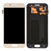 iPartsBuy for Samsung Galaxy A3 (2017) / A320 LCD Display + Touch Screen Digitizer Assembly(Gold)
