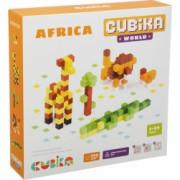 Joc Din Lemn Set de constructii Cubika World Africa
