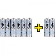 Batteria ricaricabile Stilo (AA) NiMH Ansmann maxE 2100 mAh 1.2 V 8 pz.