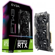 VGA EVGA RTX 2080 FTW3 Ultra Gaming, nVidia GeForce RTX 2080, 8GB, do 1860MHz, 24mj (08G-P4-2287-KR)