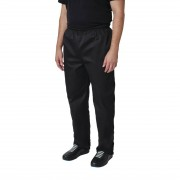Whites Chefs Clothing Whites Vegas unisex koksbroek zwart XL - XL