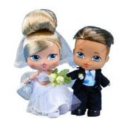 Bratz Babyz Bride & Groom with Accessories