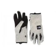 The North Face Furry Fleece Etip Gloves Vintage White