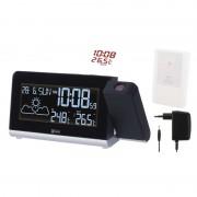 LCD domáca bezdrôtová meteostanica projekčná E8466