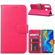 Bookcase Huawei P30 Lite hoesje - Roze