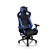 Tt eSPORTS Silla Gamer GT Fit, hasta 120Kg, Negro/Azul ― ¡Compra y recibe $100 pesos de saldo para tu siguiente pedido!