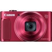 Canon PowerShot SX620 HS 20,2 Megapixel 25fach Zoom Digitalkamera rot