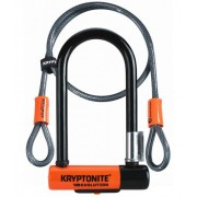 Kryptonite EVOLUTION MINI-7 fietsslot + KRYPTOFLEX kabel