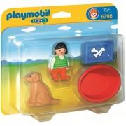 Playmobil bambina con cane 6796