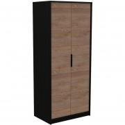 Closet Tuhome Kaia / 2 Puertas - Wengue / Miel