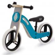 Kinderkraft UNIQ Bicicleta Bici sin Pedales Madera Accesorios Turquesa