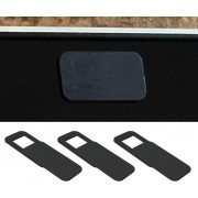 Webcam Cover IN-VI ® Vierkant (3 pack) - DE ORIGINELE, Dunste en goedkoopste privacy webcamcover protector spy schuifje