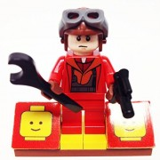 "Minifigure Packs: Lego Star Wars Bundle ""(1) Naboo Pilot"" ""(1) Figure Display Base"" ""(2) Figure Accessories"""