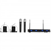 Malone UHF-550 Quartett3 4-канален комплект UHF безжични микрофони (BR4-UHF-550-3)