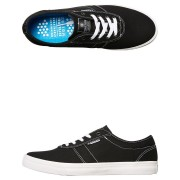Kustom Drop Kick Pro Shoe Black White