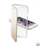 ClearBook калъф за iPhone 6/6S 4,7 златист Cellular line