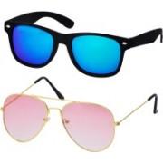 Freny Exim Aviator, Sports Sunglasses(Blue, Pink)