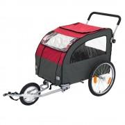 Atrelado Globetrotter com kit de jogging: C162xL81xA104cm
