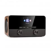 Auna Connect 100 SE, интернет радио, медиен плейър, Bluetooth, WLAN, USB, AUX, Line Out (KC3-Connect100 SE WD)