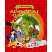 Povesti cu puzzle - Alba-ca-zapada