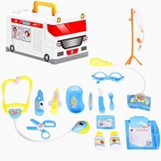 Fashionwu Kids Doctor Kit, Doctors Role Pretend Play Fun Gaming Medical Tool Toys