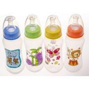 BabyBruin cumisüveg 240 ml (zöld) - elefánt