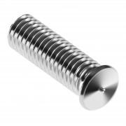 Perni a saldare - M8 - 25 mm - Acciaio inox - 100 pezzi