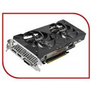 Видеокарта Palit GeForce GTX 1660 Ti Dual OC 1500Mhz PCI-E 3.0 6144Mb 12000Mhz 192 bit DVI HDMI DP NE6166TS18J9-1160A