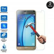Gratis 1+1 Screen Protector Glass Tempered Glass Doorzichtig 2 stuks voor Samsung Galaxy J3 2016 J320