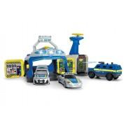 Statie de politie Swat cu 3 masini si drona - Dickie Toys
