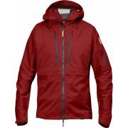 FjallRaven Keb Eco-Shell Jacket - Lava - Vestes de Pluie XL